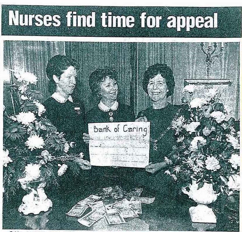 1984 Fundraising nursers bank of caring