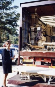 Friday 25th October 1994 prepare opening Ruth delivery